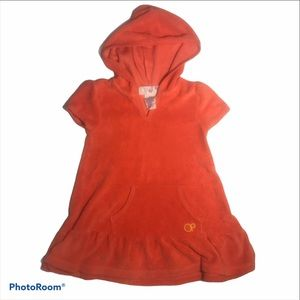 Ocean Pacific Hooded Terry Cloth Swim Cover 24M